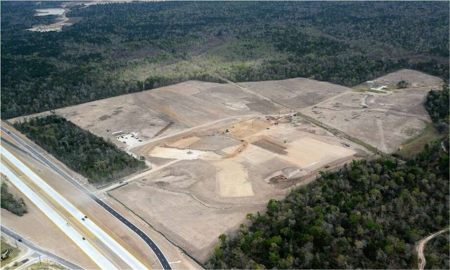 The new Conroe ISD high school located in the current Oak Ridge High School feeder zone will soon begin construction. The land has been cleared and the project will enter into its second phase when the building will start to take shape. Photo: Submitted Photo
