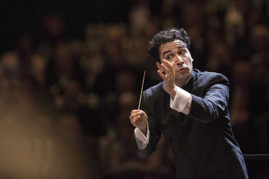 """Houston Symphony Music Director Andrés Orozco-Estrada returns to The Cynthia Woods Mitchell Pavilion following his venue debut in May for """"Music of the Americas"""" Sept. 10 at 8 p.m. Mezzanine and lawn seating is free courtesy of The Wortham Foundation."""