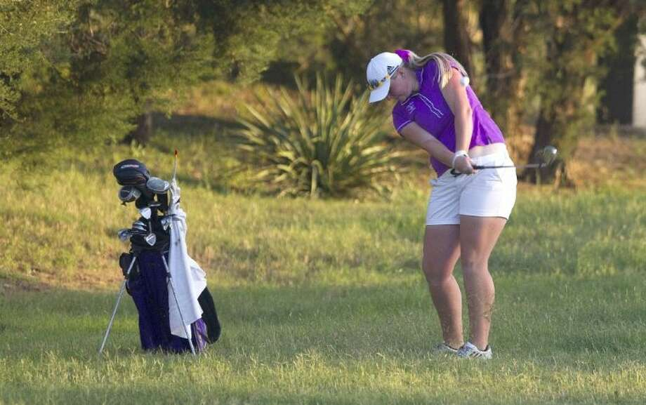 Montgomery's Kendall Wisenbaker competes in the UIL State Golf Championships in Austin. To view or purchase this photo and others like it, visit HCNpics.com. Photo: Jason Fochtman