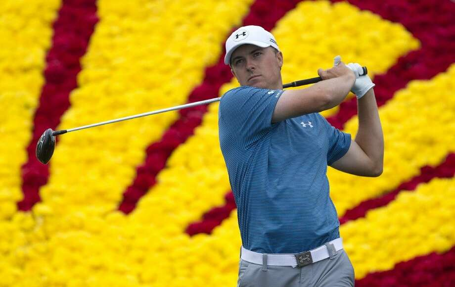 Jordan Spieth, shown during last year's Shell Houston Open, hopes for a strong showing in this year's event, leading into defending his The Masters next week. Photo: Jason Fochtman