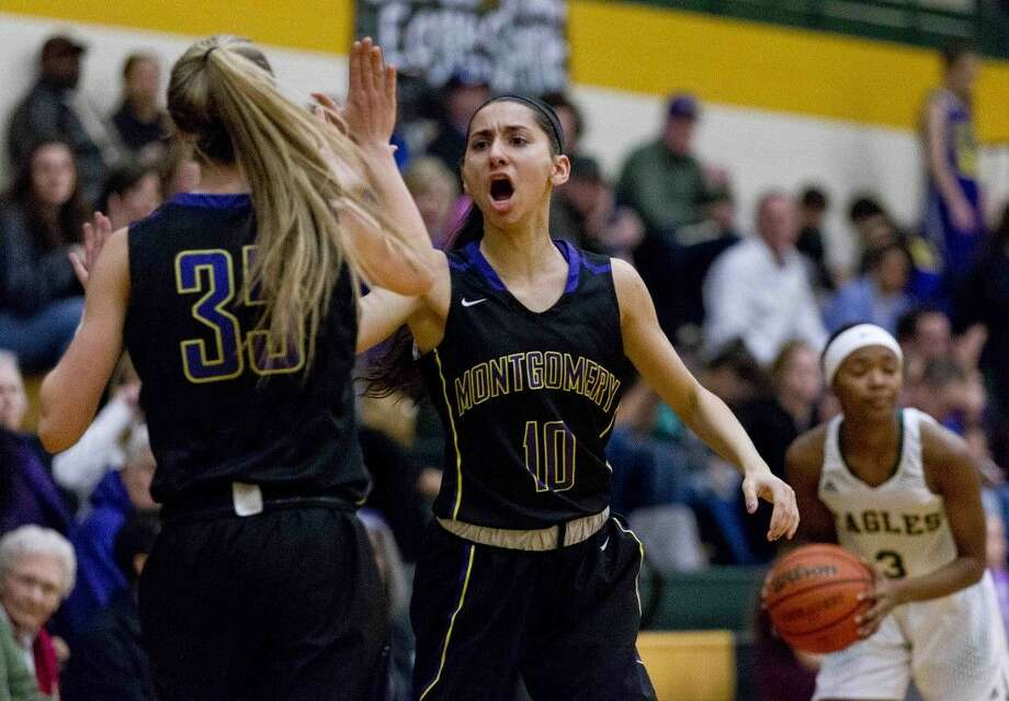 Montgomery senior Veronica Thayer was a first-team All-District 15-6A selection. Photo: Jason Fochtman