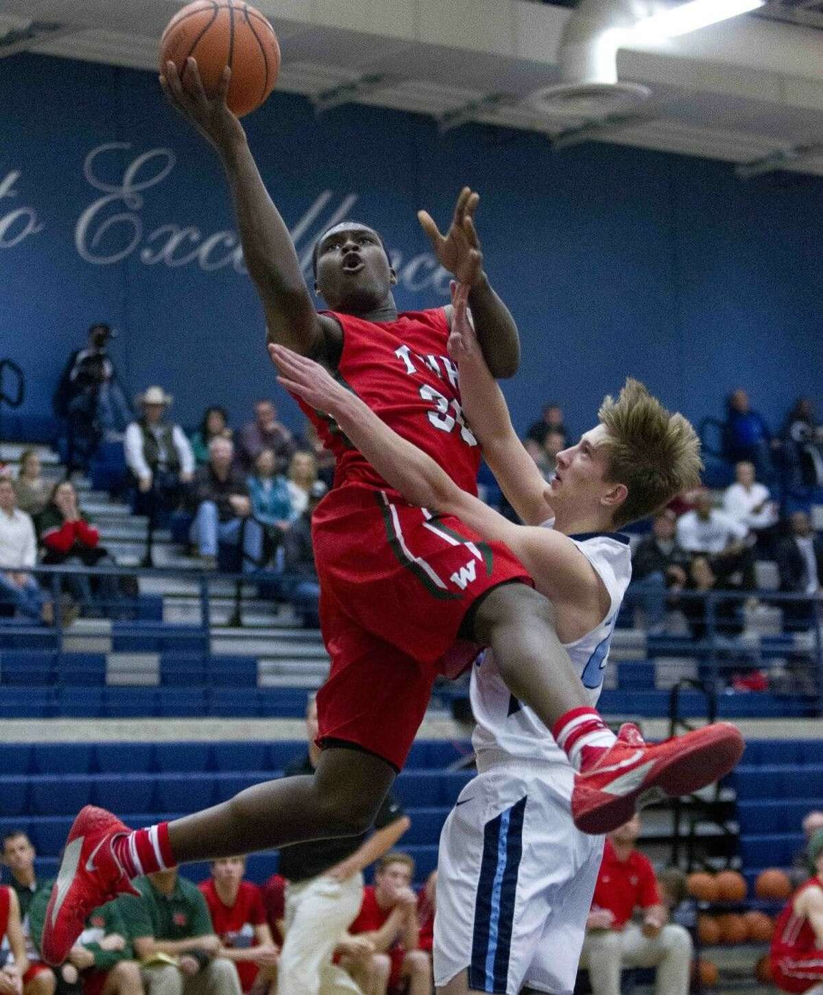 The Woodlands sophomore Romeo Wilbert is The Courier's All-County Player of the Year