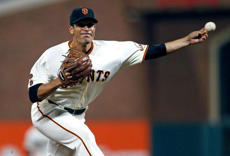 San Francisco Giants' Javier Lopez pitches in 8th inning against Colorado Rockies during MLB game at AT&T Park in San Francisco, Calif., on Thursday, September 29, 2016. Photo: Scott Strazzante, The Chronicle