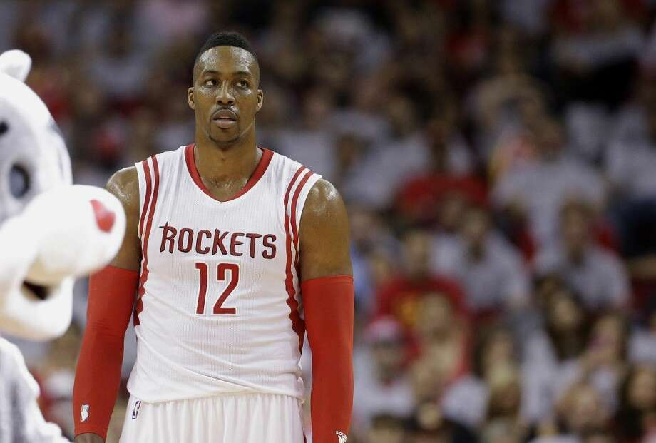 Houston Rockets' Dwight Howard almost always wears a huge smile and is quick to crack a joke. But Houston's star center knows he's a polarizing figure that many people hate, and at 29 he's finally learned to be OK with that. Photo: David J. Phillip