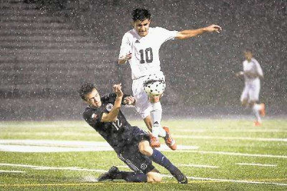 Conroe's Wilmer Burgos was named the District 16-6A soccer MVP. Photo: Michael Minasi