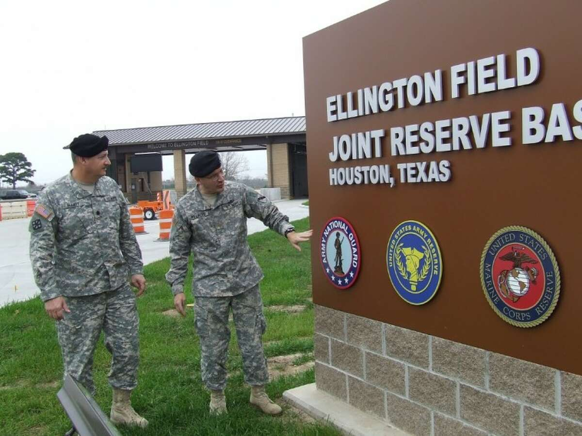 Army Reserve Lt. Col. Jon Elliott, deputy division engineer of the 75th Battle Command Training Division, and Maj. Mark Williford, public affairs officer for the 75th Battle Command, say the Joint Reserve Base soon will expand to 6,000 military personnel.