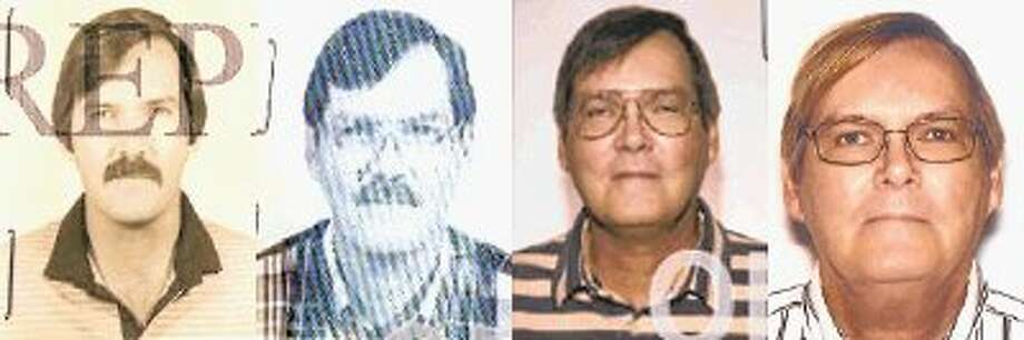 This combination of photos provided by the Federal Bureau of Investigation shows William James Vahey in 1986, 1995, 2004 and 2013. Vahey, 64, killed himself in Luverne, Minn. on March 21. / @WireImgId=2675717
