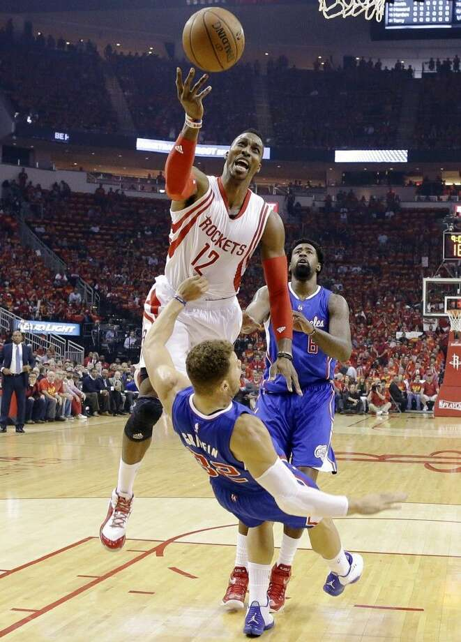 Rockets center Dwight Howard will be tested in the Western Conference finals against the Warriors. Photo: David J. Phillip