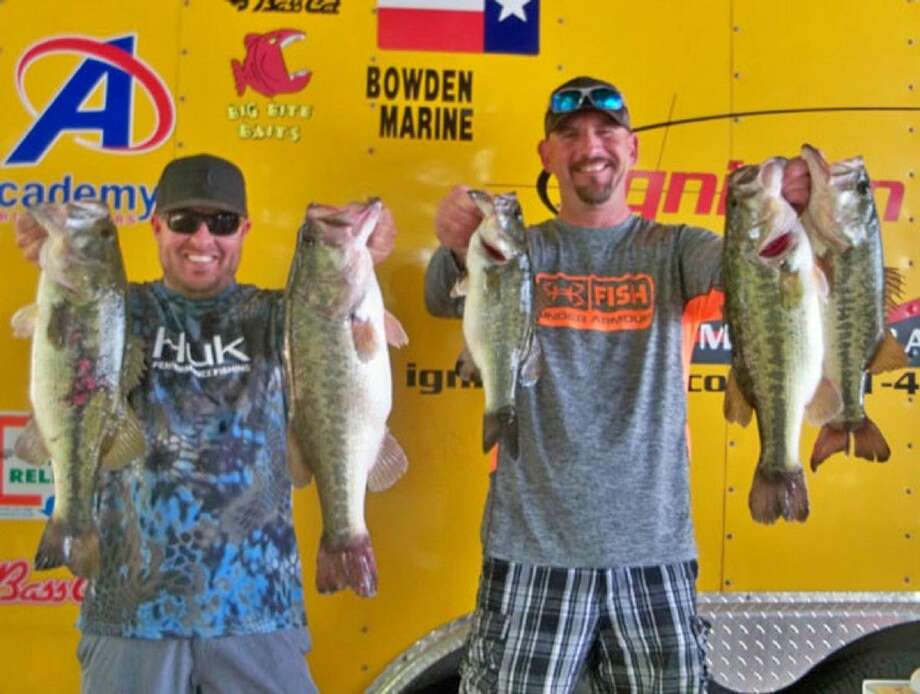 Tony Murray and Julian Clepper came in first place in the Ignition Bass team tournament with a total stringer weight of 23.04 pounds.