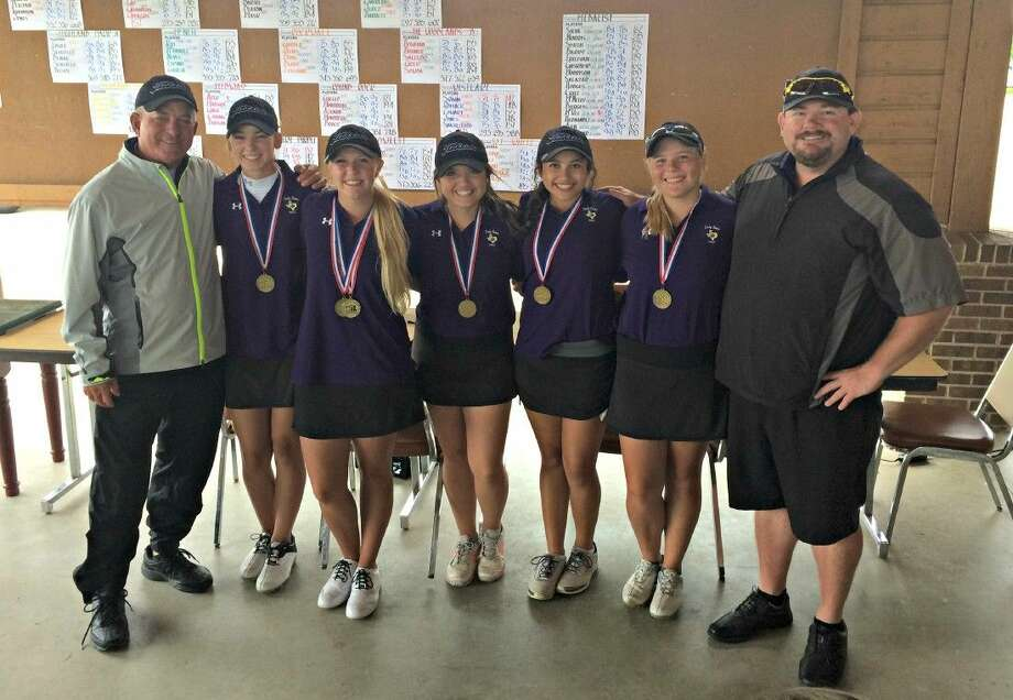 Montgomery's Purple team came from 13 strokes back to clinch a spot in the state tournament on Tuesday in Waco.