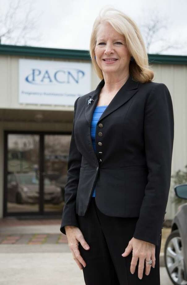 PACN Executive Directory Cindy Sunday Powell at the Pregnancy Assistance Center North Conroe location that is celebrating 10 years in Conroe.