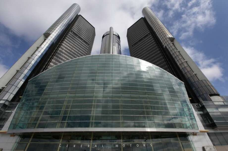 This Friday photo shows General Motors' world headquarters in Detroit. U.S. safety regulators fined General Motors a record $35 million Friday for taking at least a decade to disclose defects with ignition switches in small cars that are now linked to at least 13 deaths.