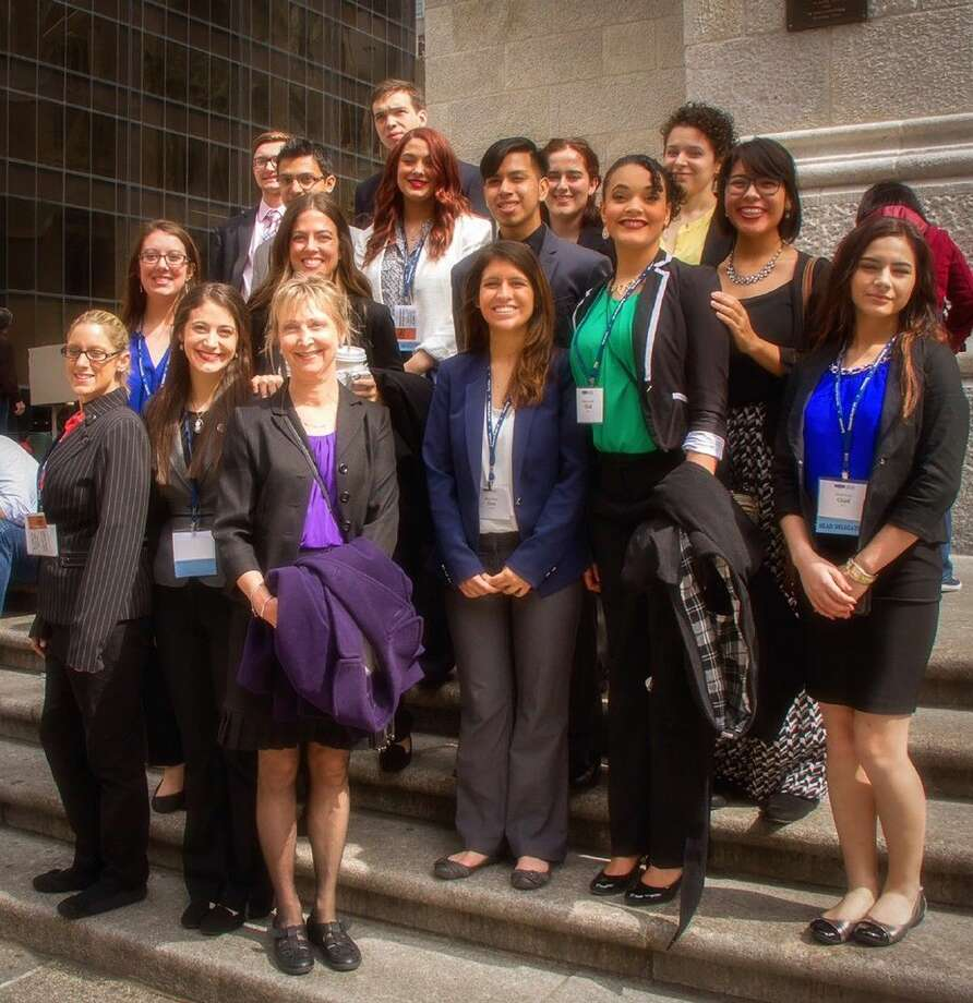 Lone Star College students represented the nation of Chad delegation at the National Model United Nations held in New York. Photo: Submitted Photo