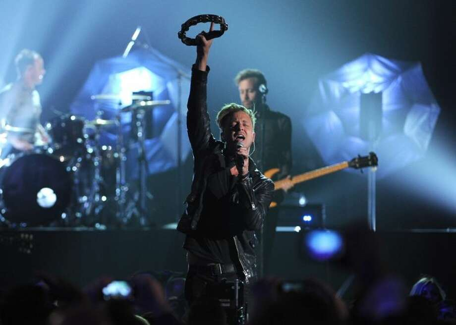 Ryan Tedder, of the musical group OneRepublic, performs at the Billboard Music Awards at the MGM Grand Garden Arena on Sunday, May 18, 2014, in Las Vegas. Photo: Chris Pizzello
