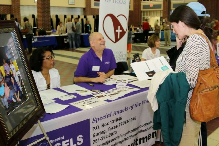 The Conroe ISD Department of Special Education Services Parent Resource Center hosted the 12th Annual Resource and Transition Fair on Thursday, March 3 at The Woodlands College Park High School.