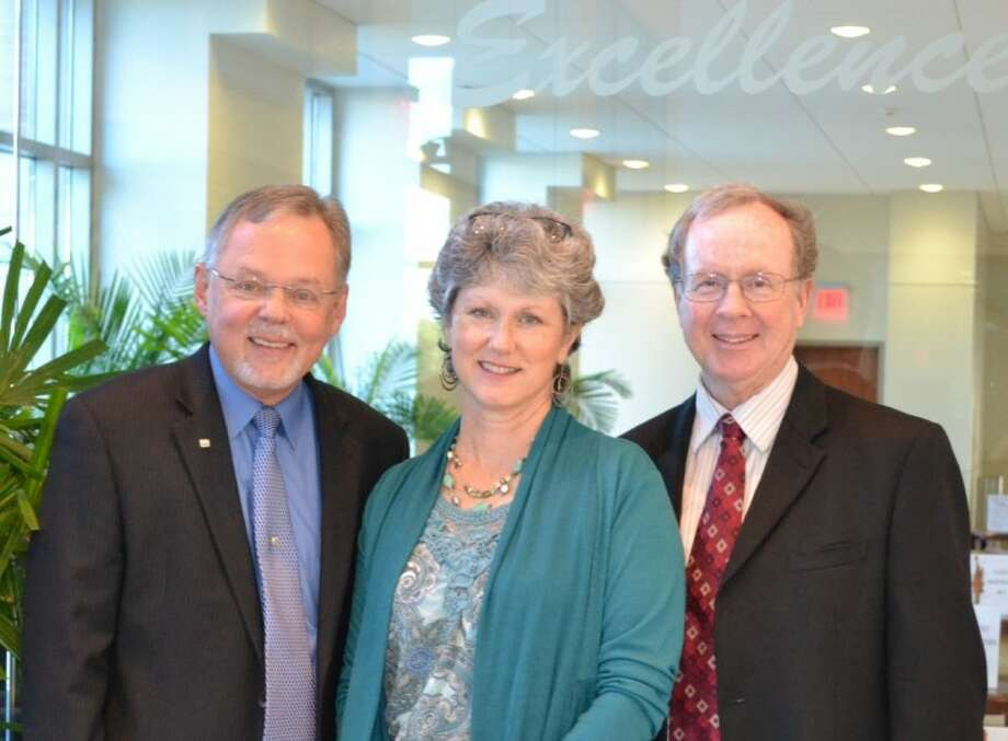 Bill Bross (left), director of spiritual care and values integration, Nancy Penney, associate staff chaplain and Craig Butler, senior staff chaplain of Methodist Sugar Land Hospital are creating an online directory of support groups and service organizations.
