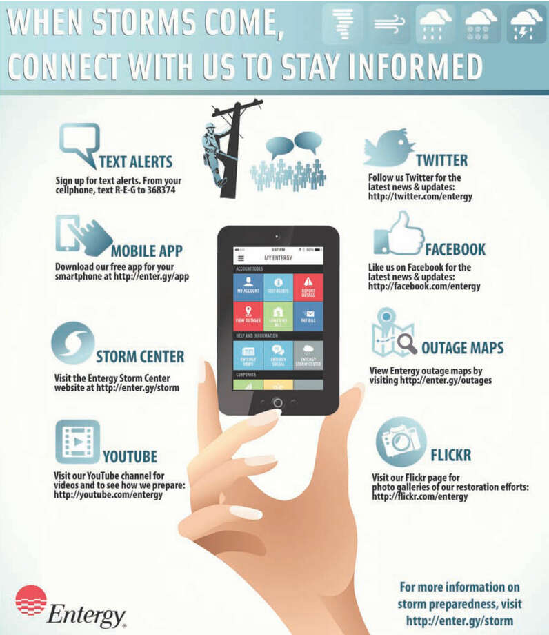 When storms come, connect with us to stay informed