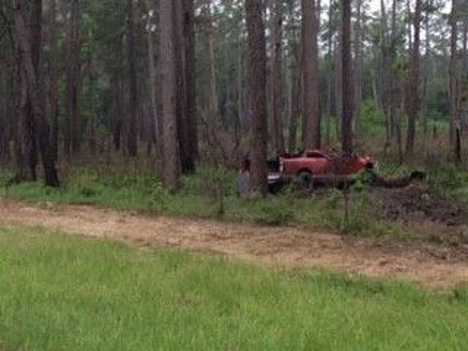 A 22-year-old Huntsville man is dead after striking a fallen tree on FM 1791 early Tuesday morning.