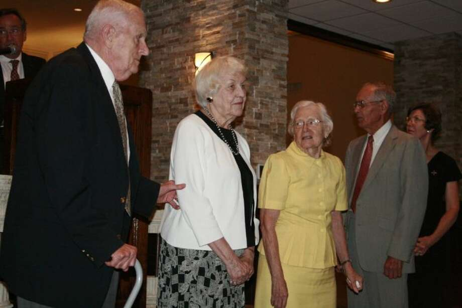 The founding members and volunteers of HAAM recognized were Al and Charlotte Bilderback, John and Nadine Cartwright, Jack Henderson, Alice Loveless, Pam Nolting and Dolores Ortego at the annual HAAM Pillars of the Community dinner Sept. 19, 2013.