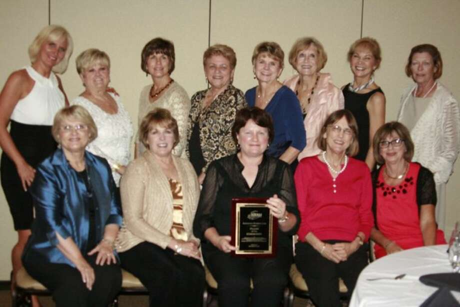 The Kingwood Women's Club was recognized and honored for their dedication to HAAM as Pillars of the Community Sept. 19, 2013.
