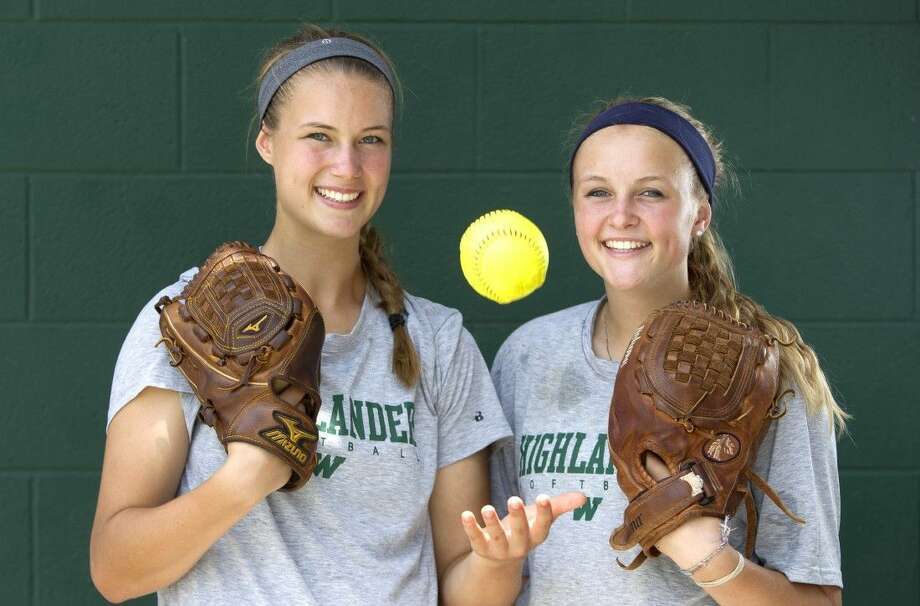 Abby and Emily Langkamp are a 1-2 punch for The Woodlands. Photo: Jason Fochtman