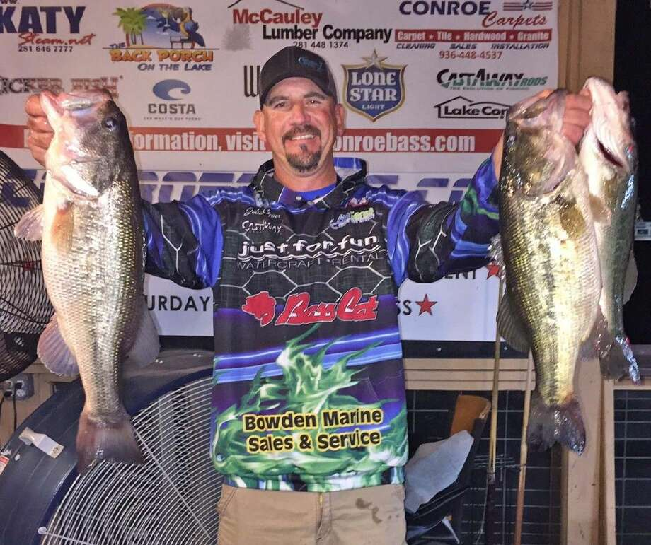 Julian Clepper came in first place in the CONROEBASS Thursday Individual tournament with a total stringer weight of 11.41 pounds.