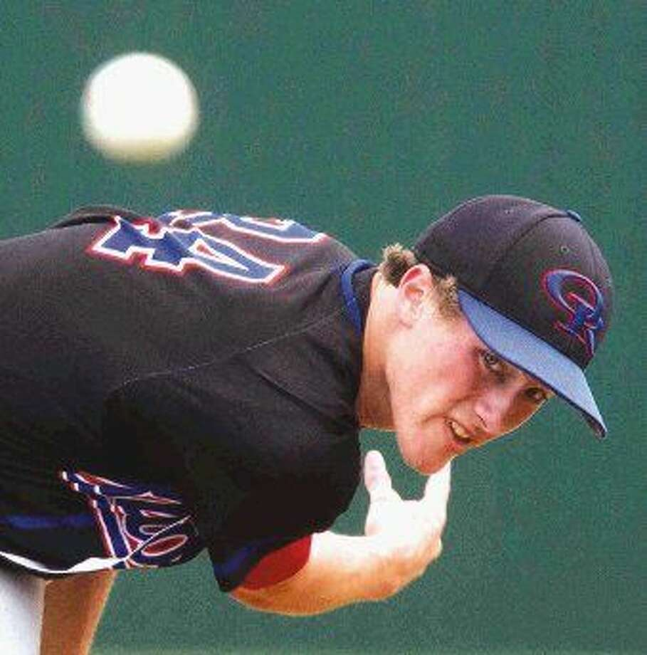 Oak Ridge pitcher Addison Moss stopped Rockwall on a 1-hitter on Saturday, leading the War Eagles to a 6-2 victory. Photo: Jason Fochtman