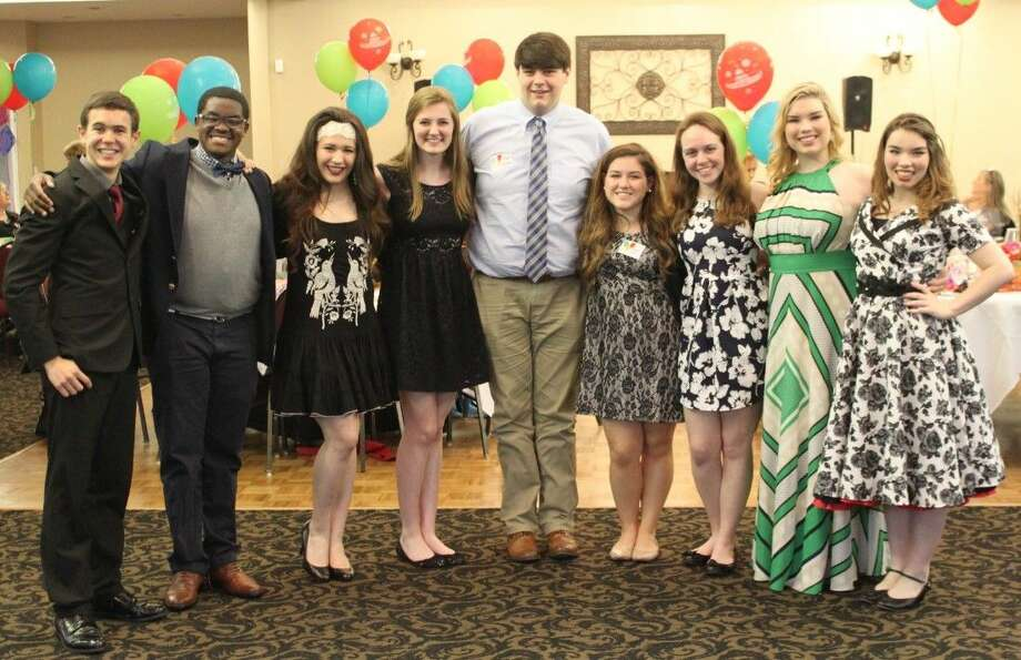 The Conroe Service League presented scholarships to Montgomery County high school seniors at April Sound Country Club during the Conroe Service League's annual Scholarship Awards Banquet May 5.