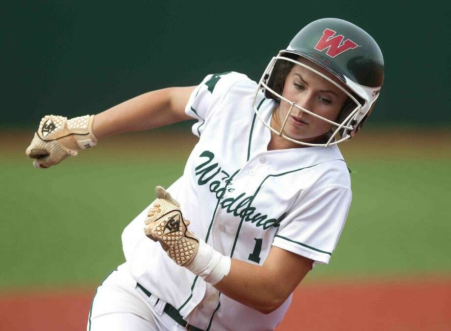 Senior shortstop Aubrey Leach is one of the veterans returning to the state tournament this season for The Woodlands. Leach will play at national power Tennessee next season. To view or purchase this photo and others like it, visit HCNpics.com. Photo: Jason Fochtman