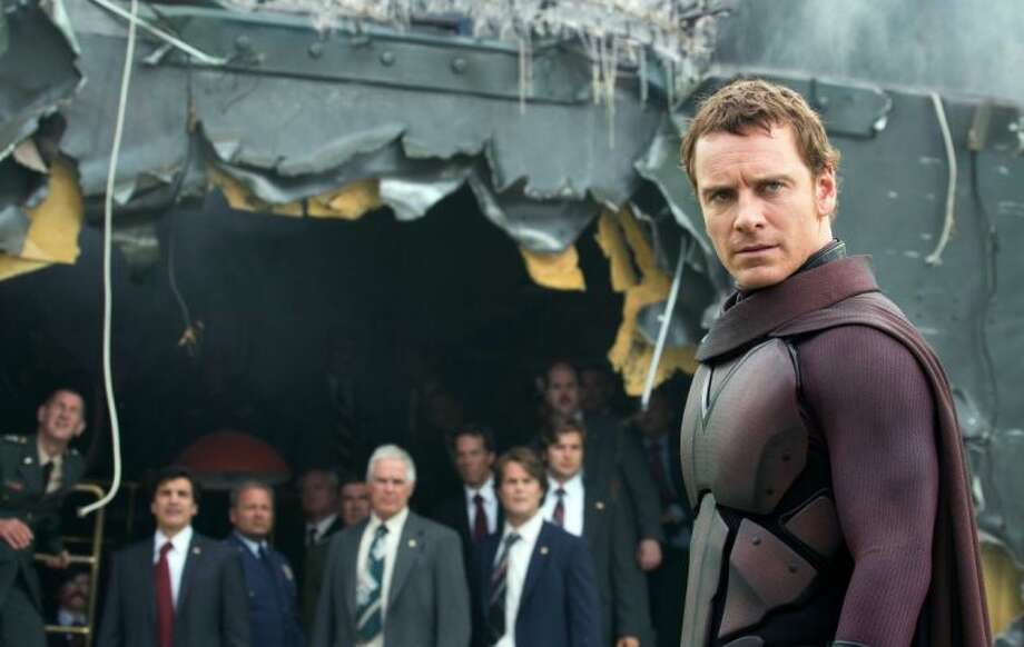 "This image released by 20th Century Fox shows Michael Fassbender in the film, ""X-Men: Days of Future Past."" Photo: Alan Markfield"