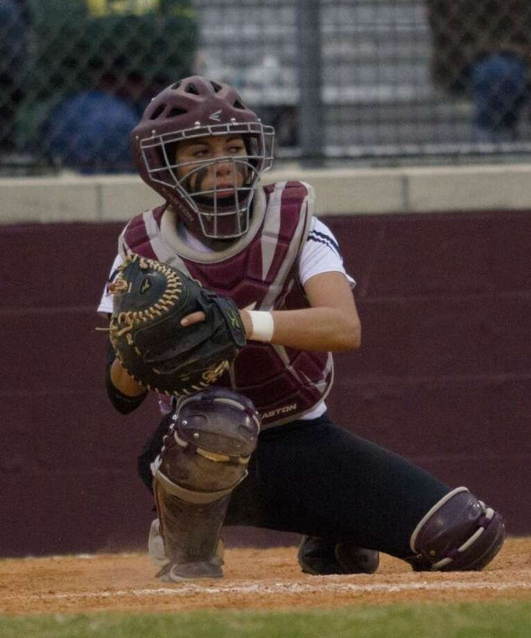 Magnolia senior Emily Garza was named the District 18-4A Most Valuable Player in a vote by the league's coaches.