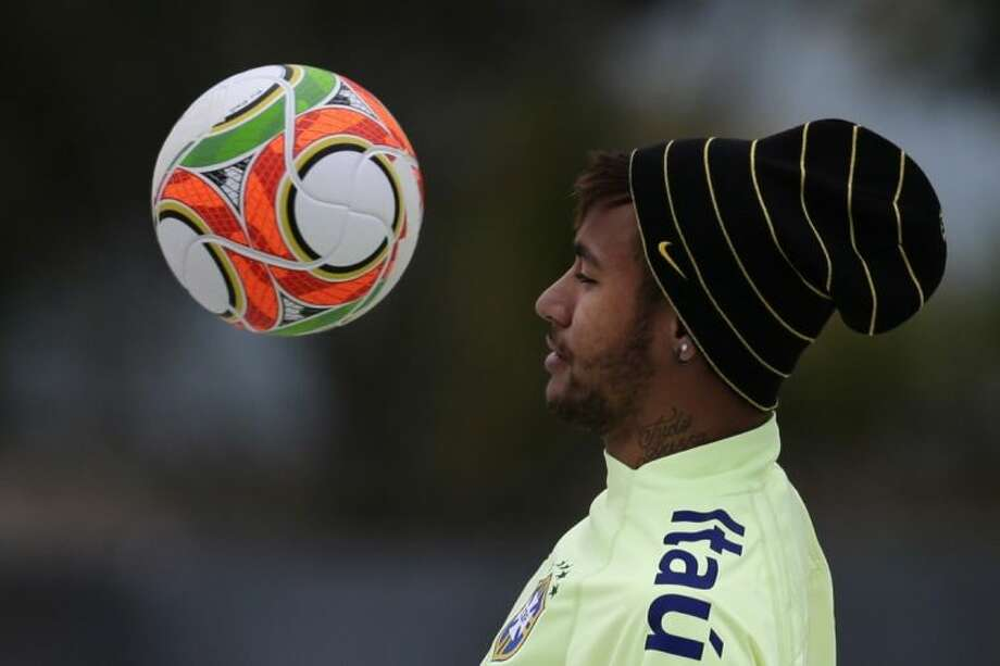 Neymar leads host Brazil into the World Cup, which begins with the Selação facing Croatia on June 12 in Sao Paulo. Photo: Hassan Ammar