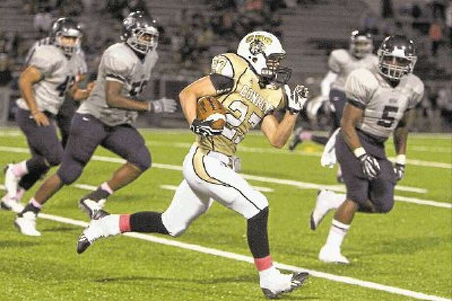 Conroe running back Thomas Shirer is expected to play a big role with the Tigers in his senior season. Photo: Staff Photo By Jason Fochtman / @WireImgId=2645118