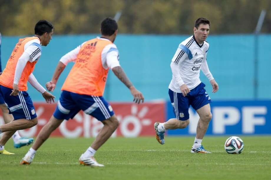 Lionel Messi and Argentina are expected to cruise through Bosnia and Herzegovina, Iran and Nigeria in group play. Photo: Natacha Pisarenko