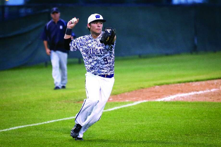 Willis' Corbin Marett was named first-team All-District 18-5A by the league's coaches recently. Photo: Michael Minasi