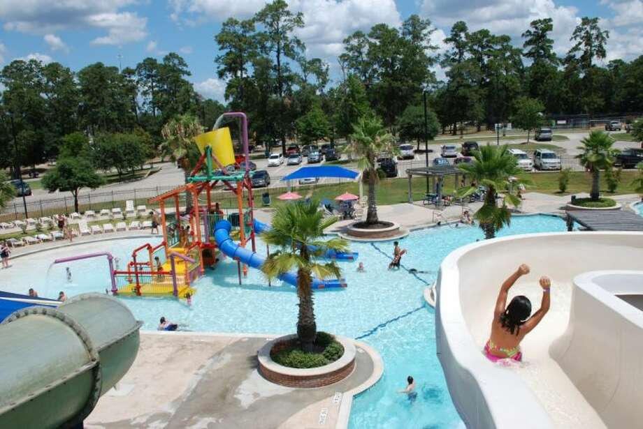 The water park at the Conroe Aquatic Center is open Monday through Friday from 11 a.m. to 7 p.m. and Saturday through Sunday from 1 to 6 p.m. Daily admission is $7 per person, anyone entering the facility. It's at 1205 Callahan Avenue across from Candy Cane Park. For more information about the Aquatic Center's Water Park, please call 936-522-3930 or visit cityofconroe.org.