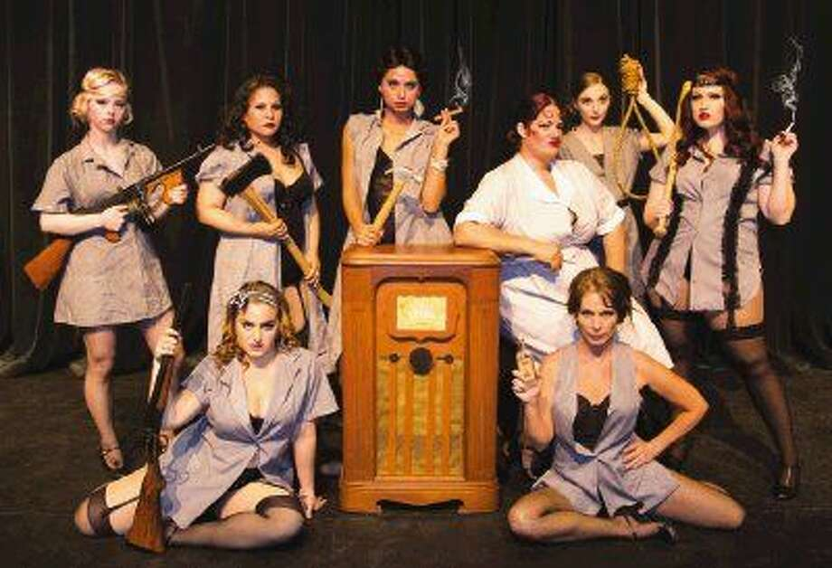"The 'Merry Murderesses"" of The Players Theatre Company's ""Chicago!"" plus The show opens May 13 at the Owen Theatre."