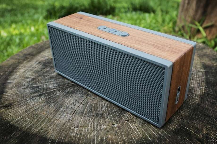 This May 26, 2014 photo shows the Grain Audio Packable Wireless System Bluetooth speaker. Photo: Ron Harris