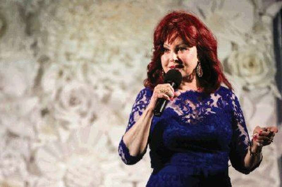 Keynote speaker Naomi Judd, Grammy award winning musical artist, speaks during the annual Tea on the Lawn event. Photo: Michael Minasi