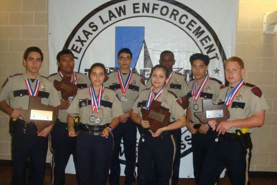 North Harris County Explorers take home the top awards during the  23rd annual Law enforcement Texas State Explorer competition on April 28 in Waxahachie Texas. Photo: From Pct. 4 Constable's Office