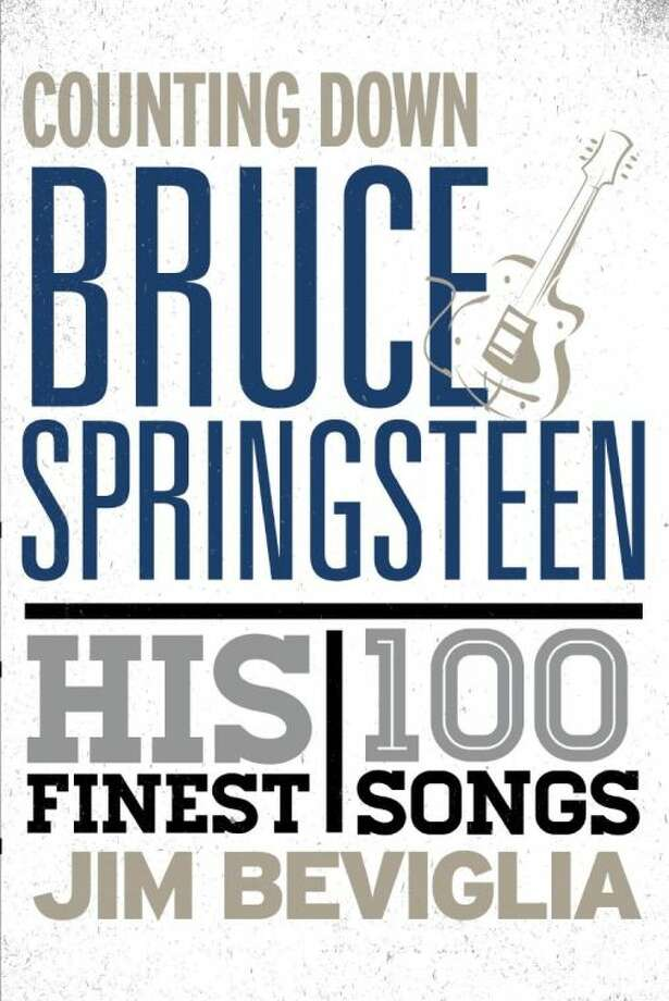 """This book cover image released by Rowman & Littlefield shows """"Counting Down Bruce Springsteen: His 100 Finest Songs,"""" by Jim Beviglia. (AP Photo/Rowman & Littlefield) Photo: HOEP"""