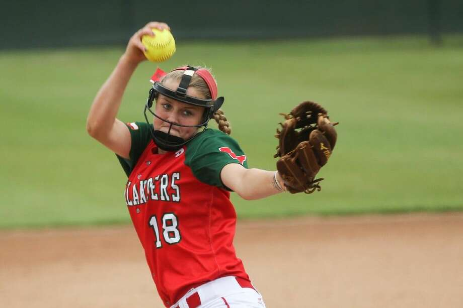 The Woodlands' Emily Langkamp was a first-team all-district selection this season. Photo: Michael Minasi