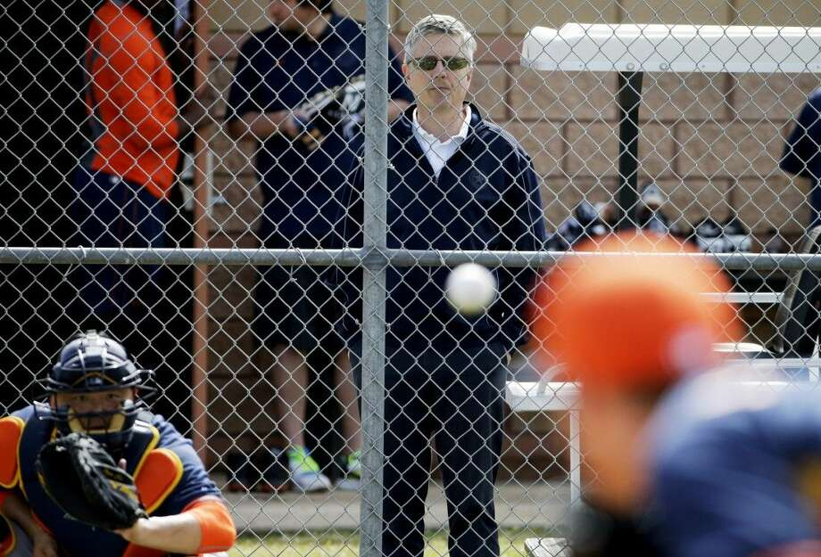Federal law enforcement authorities are investigating whether the St. Louis Cardinals illegally accessed a computer database of th Astros. The aim was obtaining information from the front office headed by Luhnow, a former top aide who helped transform St. Louis' scouting operation to a sabermetrics-based system, a person familiar with the situation told The Associated Press on Tuesday. Photo: David Goldman