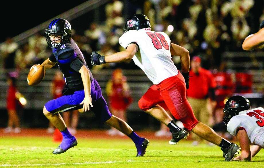 Caney Creek's Caleb Chutes (88) is expected to make an impact for the Panthers. Photo: Jason Fochtman