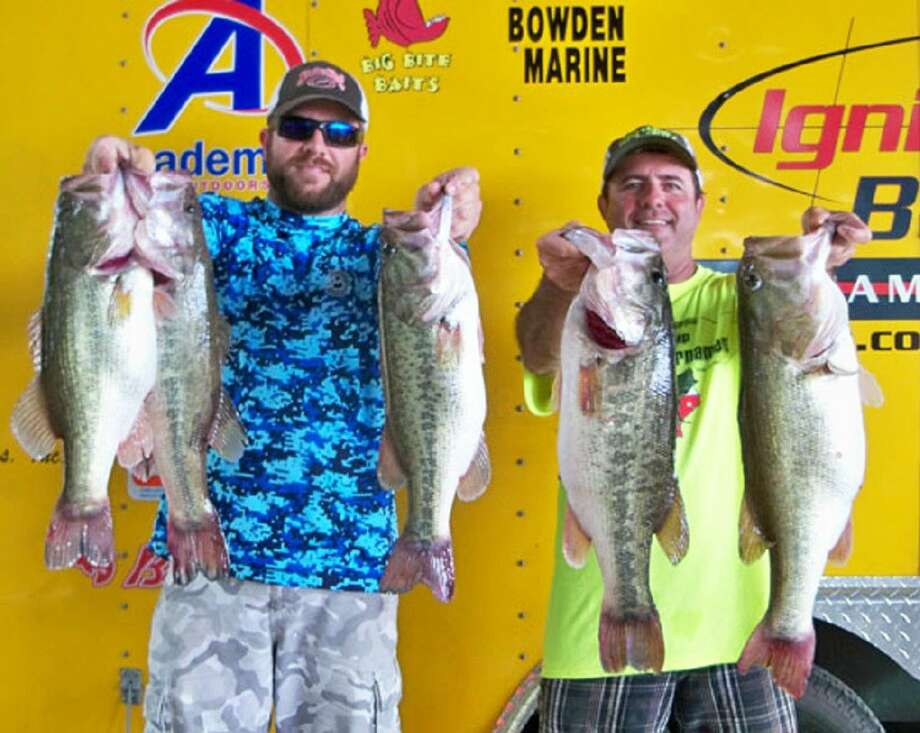 Danny Ferraro and Brad Ferraro came in first place in the Ignition Bass Team Division Tournament with a total stringer weight of 30.02 pounds. They also had big bass of the day that weighed 8.53 pounds.