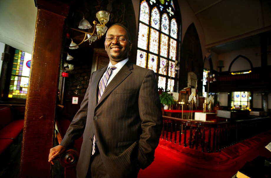 A Nov. 22, 2010 photo shows the Rev. Clementa Pinckney at Emanuel AME Church in Charleston, S.C. Pinckney, a Ridgeland Democrat and pastor at Mother Emanuel AME Church, died Wednesday, June 17, 2015, in the mass shooting at the church. (Grace Beahm/The Post and Courier via AP) Photo: Grace Beahm