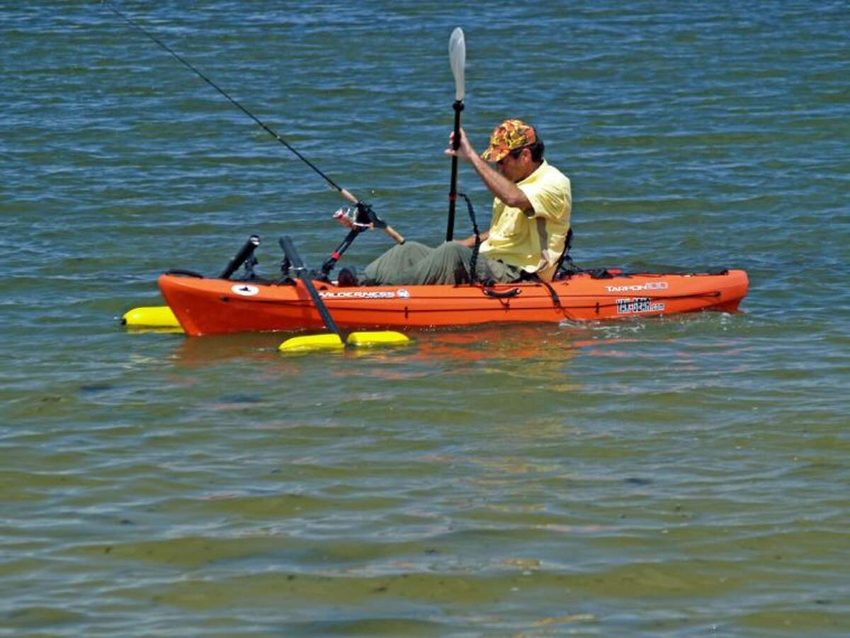 Always wear a lifejacket, especially if you are alone on a kayak. boat or other watercraft.