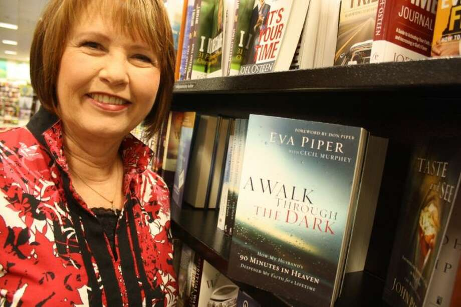 "In ""A Walk Through the Dark"", Eva Piper recounts her experience as a caregiver. The book serves as companion piece to her husband's New York Times besteller, ""90 Minutes in Heaven."" Photo: Y.C. OROZCO"