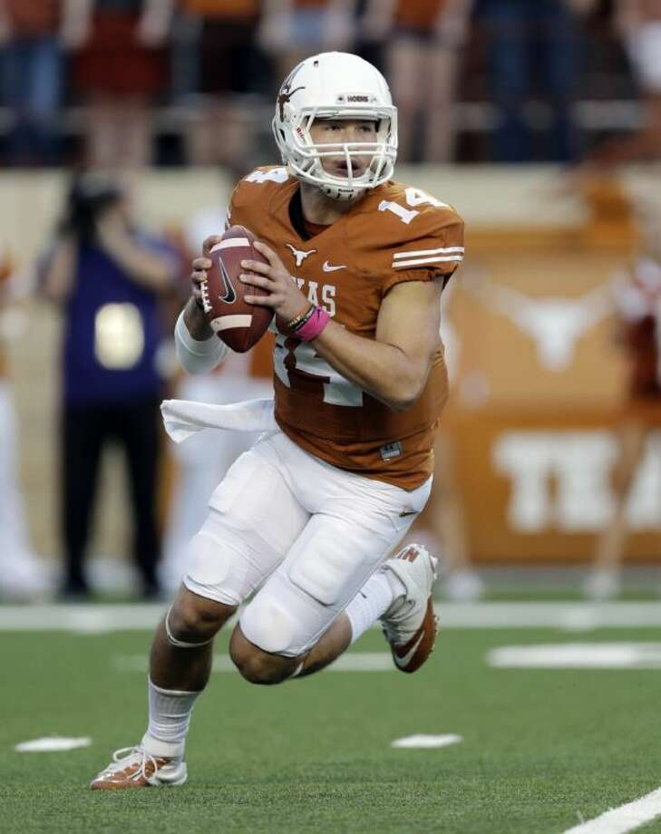 David Ash and the Texas Longhorns have an open date Saturday.