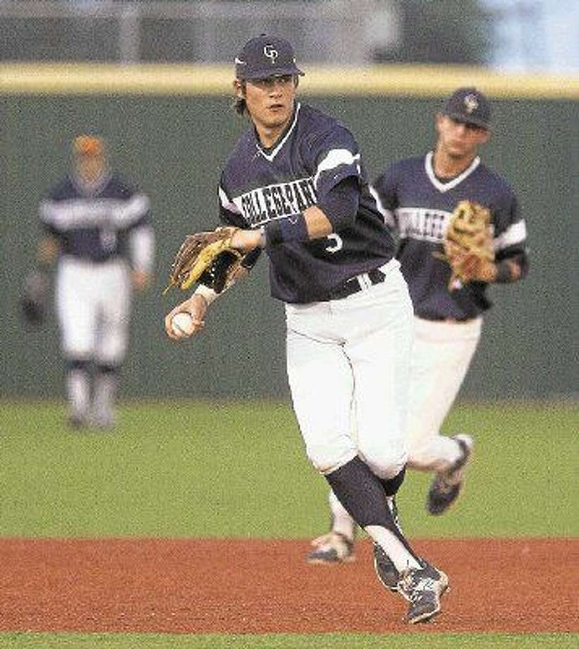 College Park third baseman Chandler Morris was one of eight Cavaliers to be selected on the first team for The Courier's All-Montgomery County team. Morris will play next season in the JUCO ranks at Panola College. Photo: Jason Fochtman